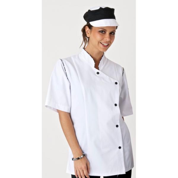 Veste cuisine pour femme veste de cuisine taille 3 veste cuisine homme clement - Clement veste de cuisine ...