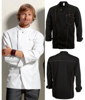 Veste cuisine tamise veste cuisine bp magasin veste for Personnaliser sa veste de cuisine